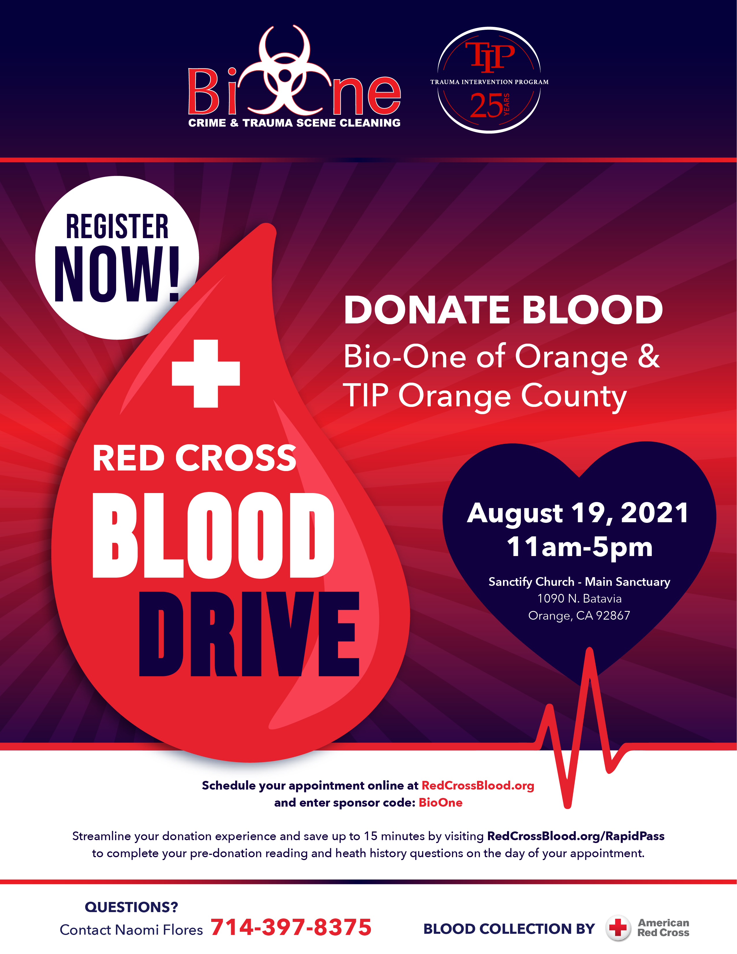 Bio-One and TIP host Blood Drive with American Red Cross: