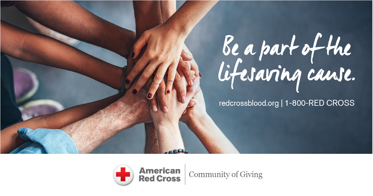 #HELPFIRST with a Blood Drive to Save Lives!